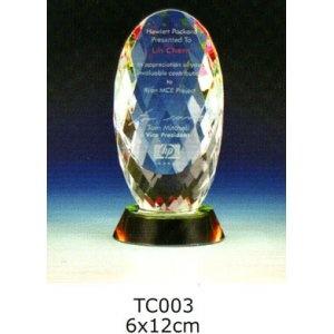 TC003-Z 水晶獎座