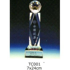 TC001-Z 水晶獎座