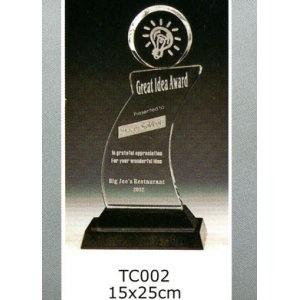 TC002-Z 水晶獎座