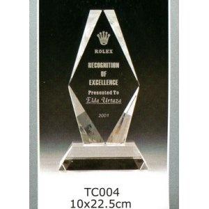 TC004-Z 水晶獎座