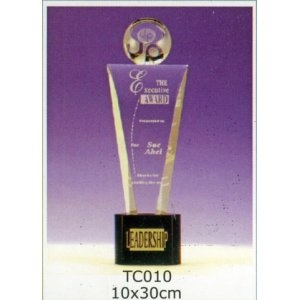 TC010-水晶獎座