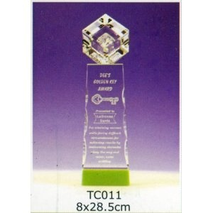 TC011-水晶獎座