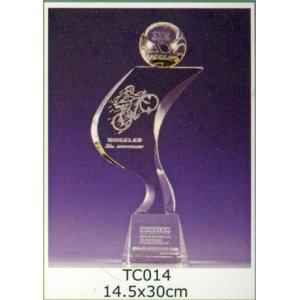 TC014-水晶獎座