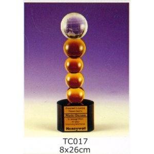 TC017-水晶獎座