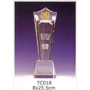 TC018-水晶獎座