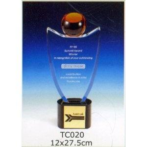 TC020-水晶獎座