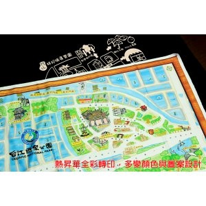 SC02 頭巾&領巾(方巾)兩用_熱昇華彩印