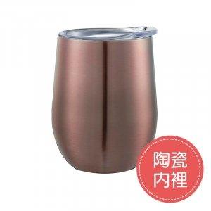 TH38-WCV-3135 蛋型陶瓷保溫杯 冰霸杯 保冰杯(陶瓷內裡)