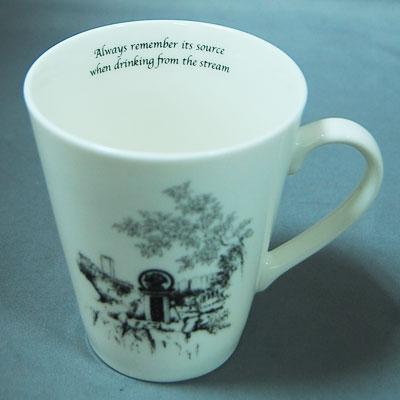 新骨瓷馬克杯印製